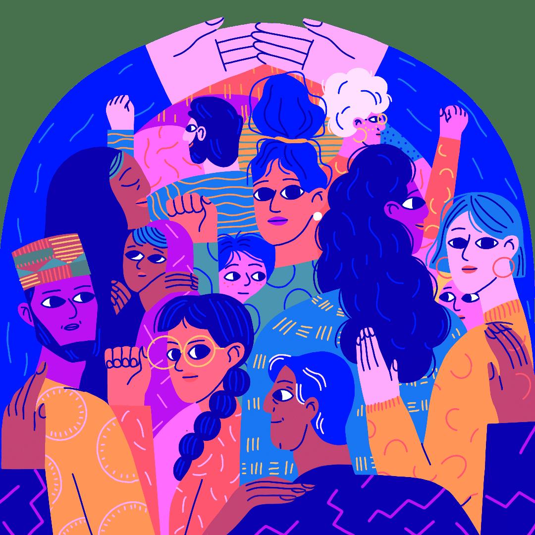 Sobre las mujeres, la paz y la seguridad